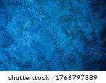 Blue Mortar Background Texture  ...
