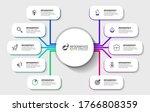 infographic design template....   Shutterstock .eps vector #1766808359