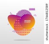 design abstrack modern graphic... | Shutterstock . vector #1766812589