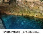 Cenote Cave With Super Clean...