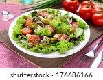 green salad | Shutterstock . vector #176686166