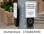 """pedestrian Signal Is Now..."