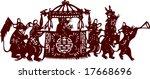 vector of traditional artistic...   Shutterstock .eps vector #17668696