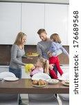 happy family with children...   Shutterstock . vector #176689568