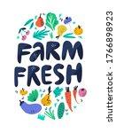 Farm Fresh Hand Drawn...