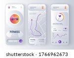 fitness monitor unique design...