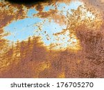 Metallic Texture With Rust For...