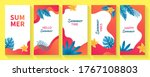 set of social media stories... | Shutterstock .eps vector #1767108803
