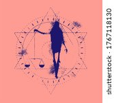 mystery  witchcraft  occult and ... | Shutterstock .eps vector #1767118130