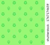 trees pattern  vector seamless... | Shutterstock .eps vector #1767174659