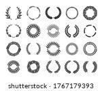 various greek round branch... | Shutterstock .eps vector #1767179393