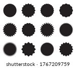 set of round stickers with... | Shutterstock .eps vector #1767209759