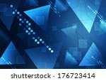 abstract technology background | Shutterstock . vector #176723414