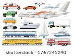 public transport vector.... | Shutterstock .eps vector #1767245240