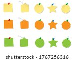 different forms of paper... | Shutterstock .eps vector #1767256316