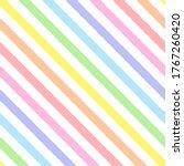 Rainbow Seamless Diagonal...