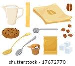 around coffee set | Shutterstock .eps vector #17672770
