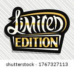 Vector Logo For Limited Edition ...