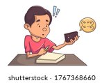 vector cartoon illustration of... | Shutterstock .eps vector #1767368660