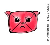 email icon kawaii spam cat
