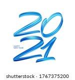 vector blue brushstroke paint... | Shutterstock .eps vector #1767375200
