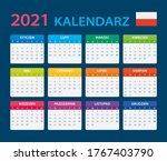 2021 calendar   vector template ...   Shutterstock .eps vector #1767403790