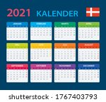 2021 calendar   vector template ...   Shutterstock .eps vector #1767403793