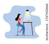 work from home illustration for ...