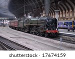 Britannia Locomotive 70013...