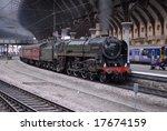 Britannia Locomotive 70013...
