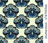 vector floral design   Shutterstock .eps vector #176745566