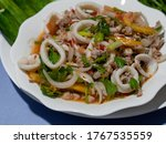 Spicy Salad Thai Style. Yum...