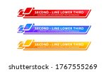 vector  lower third or...   Shutterstock .eps vector #1767555269