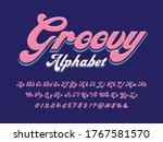 A Groovy Hippie Style Alphabet...