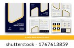 8 pages creative business... | Shutterstock .eps vector #1767613859