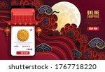 online shopping concept digital ... | Shutterstock .eps vector #1767718220