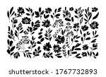 spring flowers hand drawn... | Shutterstock .eps vector #1767732893