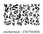 plant branches with small... | Shutterstock .eps vector #1767733550