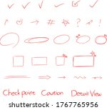 Red Pencil Illustration Vector...