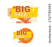 set sale banners. special... | Shutterstock .eps vector #1767785393
