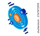 solar system milky way icon... | Shutterstock .eps vector #1767872999