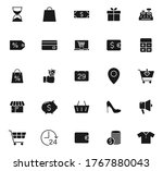 black friday vector icons...