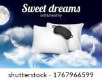 night dreams poster. relax...   Shutterstock .eps vector #1767966599