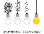 simplification concept.... | Shutterstock .eps vector #1767972500