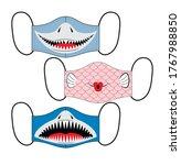 set of designs of reusable... | Shutterstock .eps vector #1767988850
