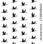 vector seamless pattern of... | Shutterstock .eps vector #1768048643