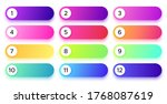gradient buttons with numbers...