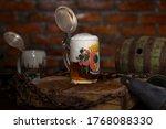 Traditional german beer stein...