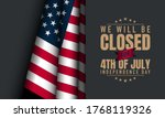 american independence day... | Shutterstock .eps vector #1768119326