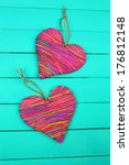 Decorative Heart On Wooden...
